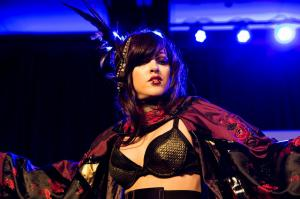 Carla X returns for a third year to gogo dance at the Florida SuperCon, 2016, Saturday Night Rave.