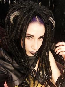 Custom wig for Val Vampyr